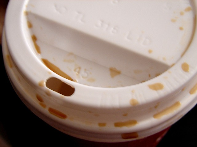 Can we talk about these useless coffee cup lids?