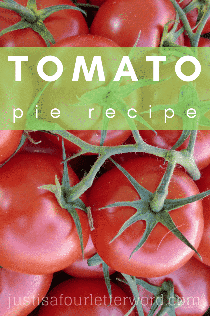 If you're looking for a delicious way to enjoy tomatoes from your garden, the farmer's market or the grocery store, this tomato pie recipe is so satisfying!