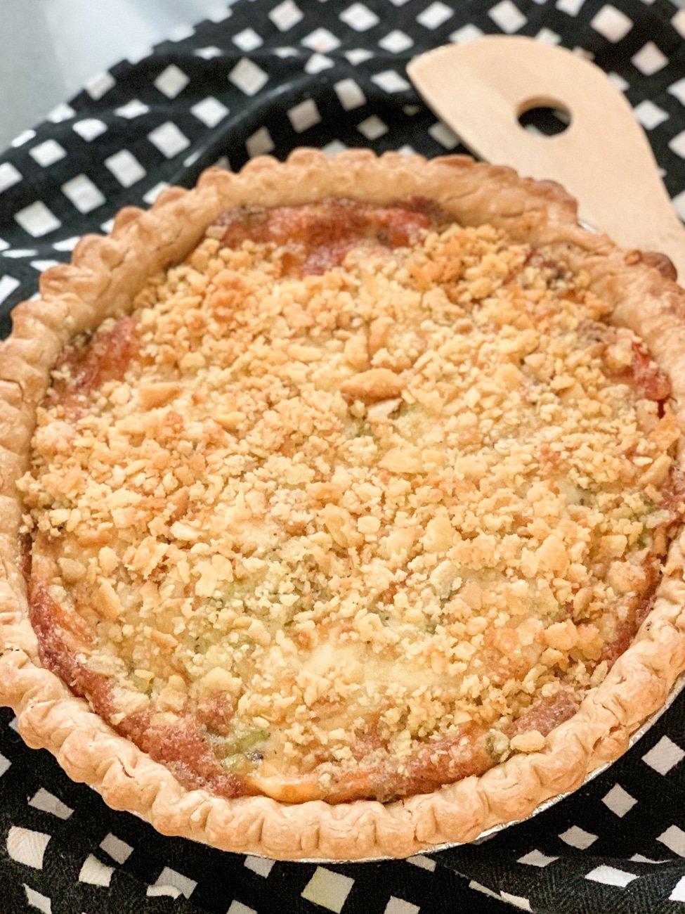 Tomato Pie cooked