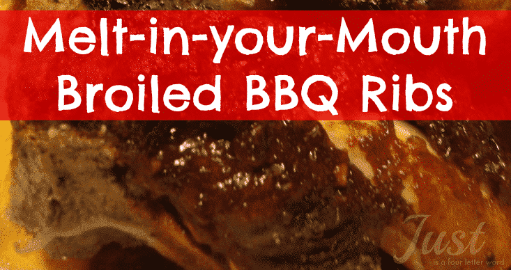Broiled BBQ Beef Ribs