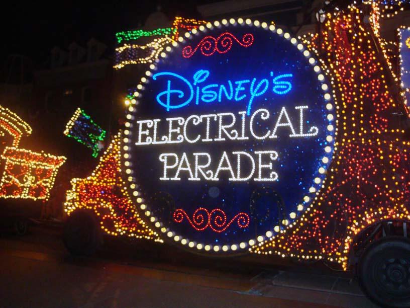 Magic Kingdom Electrical Parade Float