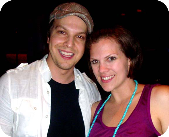Gavin DeGraw with Andrea Updyke