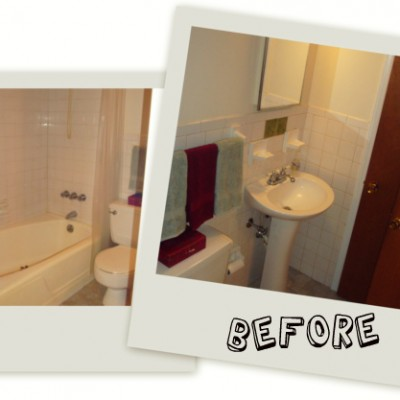 Bathroom Pictures: Before and After