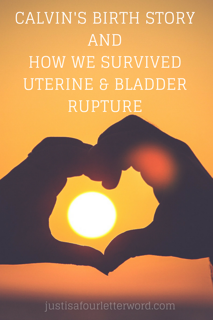 Birth story of survival. My uterine and bladder rupture