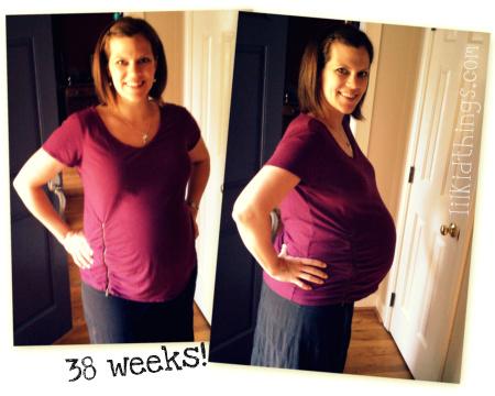 38 weeks pregant