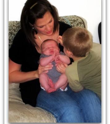 8 Weeks Postpartum {Becoming Mom}