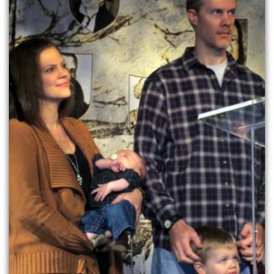 Calvin's Baby Dedication: Raising Boys