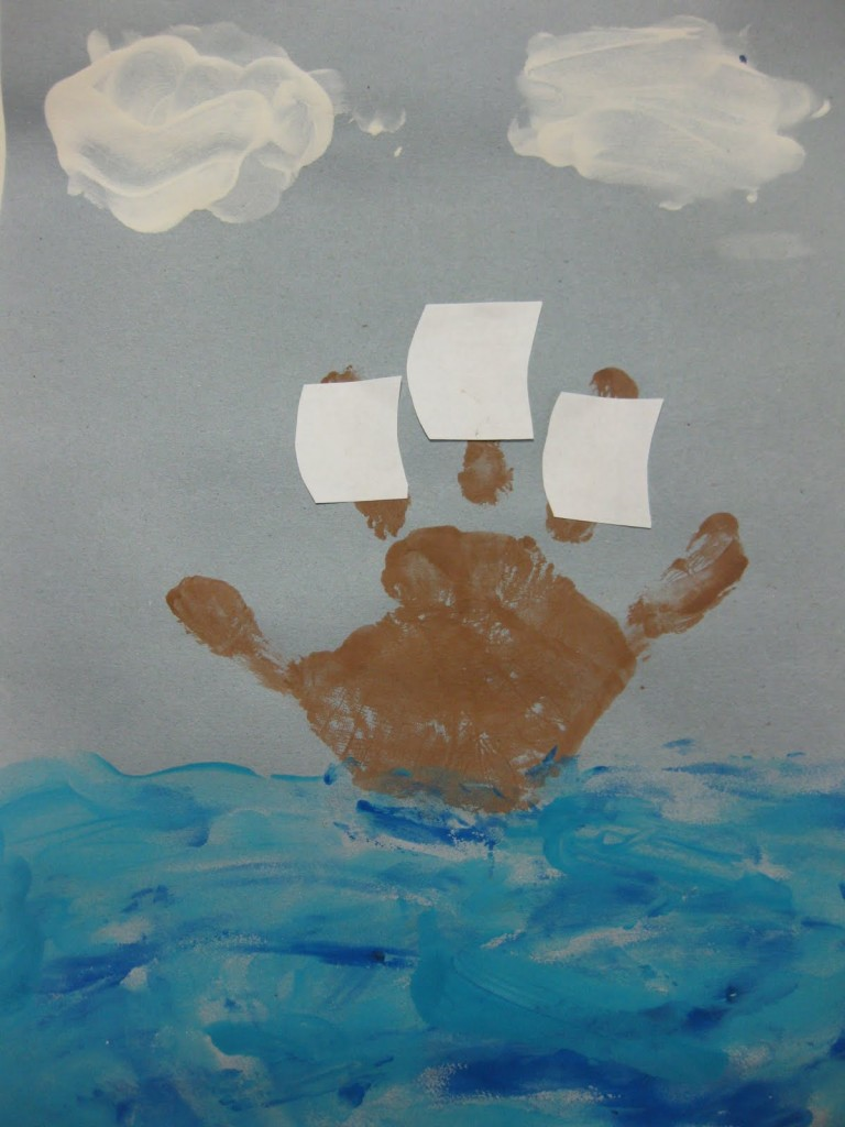 Christopher Columbus Crafts Preschoolers