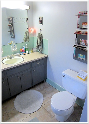 Bathroom Makeover For Less Than 100 Just Is A Four