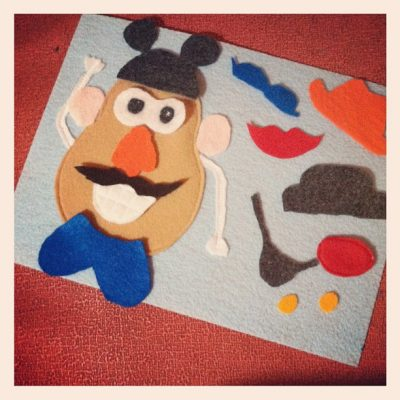 DIY Mr. Potato Head Play Mat