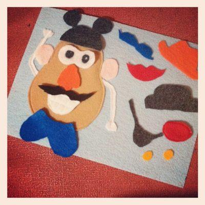 DIY Mr. Potato Head Play Mat