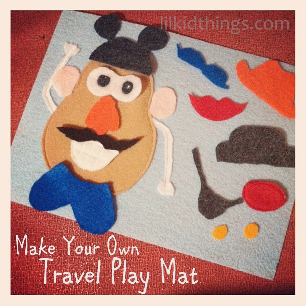 image about Mr Potato Head Printable Parts referred to as Do it yourself Mr. Potato Thoughts Enjoy Mat for Relaxed Textbooks and Push with