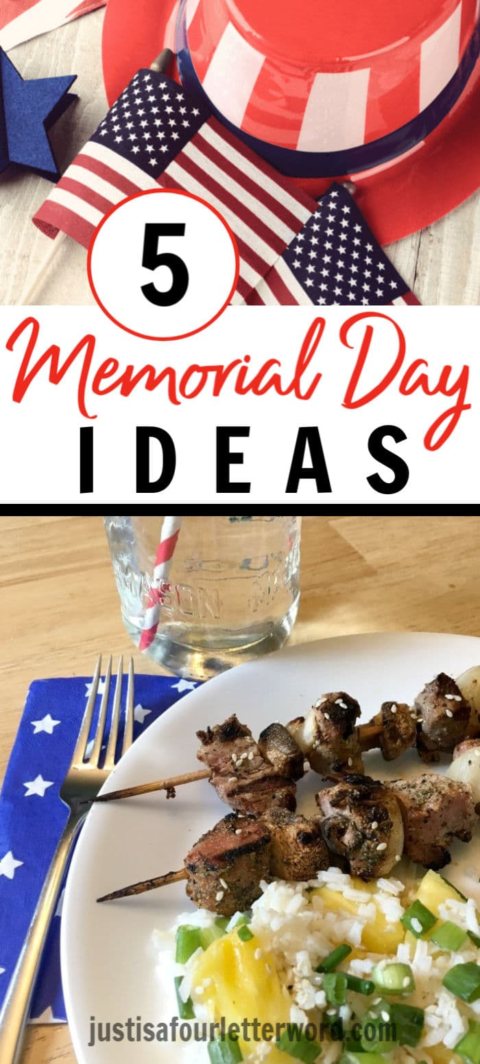 Memorial Day Ideas Pin Image