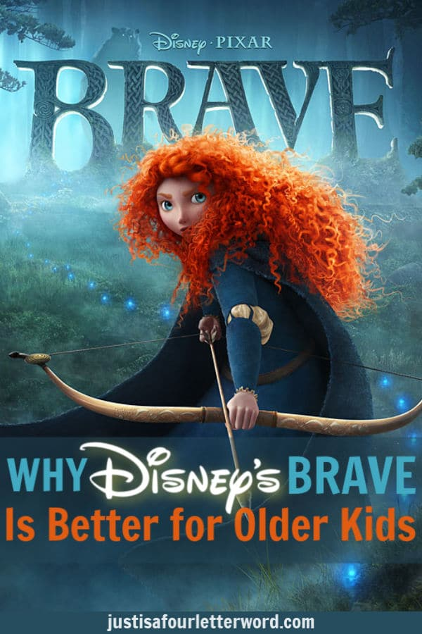 Why the Brave Disney movie isn't for young kids