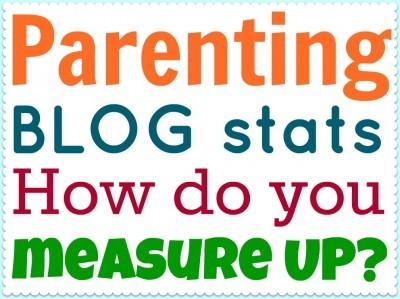 Parenting blog stats. How do you measure up?