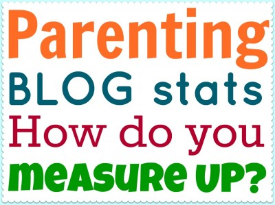 Post image for Parenting blog stats. How do you measure up?
