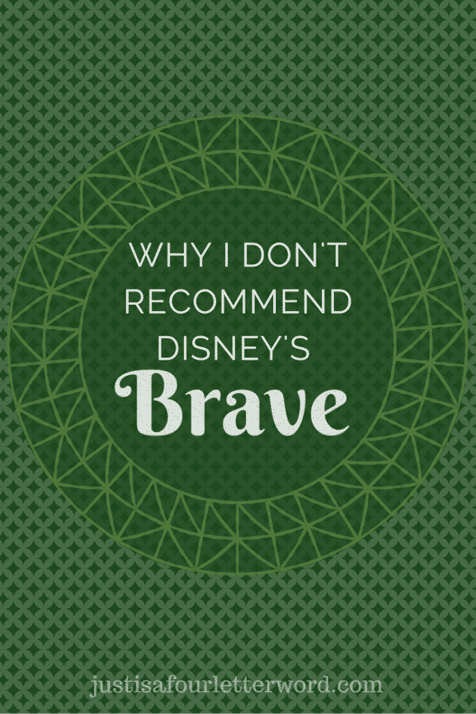 I didn't love the Disney movie, Brave and I am sharing why. As a mom I love reading up on films before taking the kids. Here's my Brave movie review.