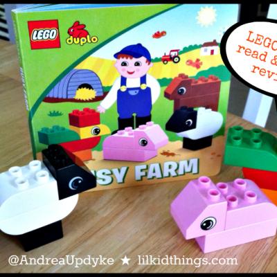 LEGO DUPLO Read & Build gets an A+