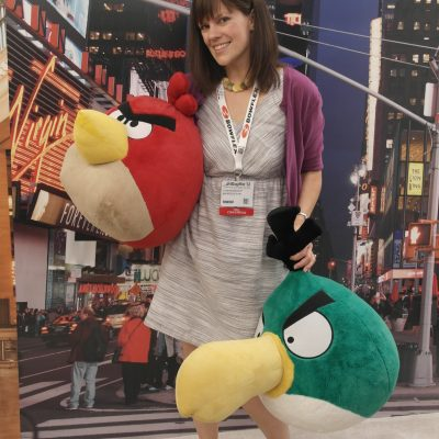 Angry Birds obsessed