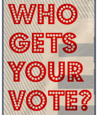 Who gets your vote? {election2012}