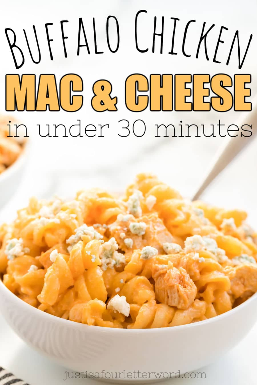 Buffalo Chicken Mac & Cheese