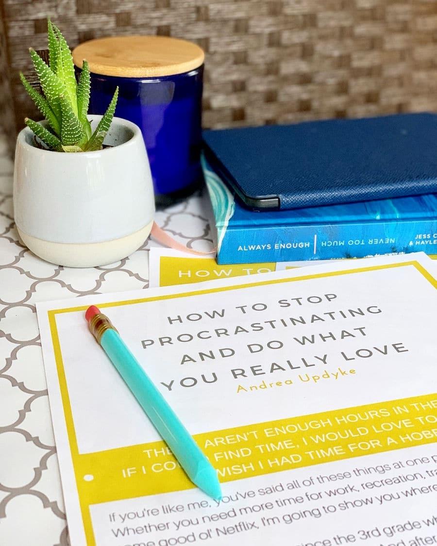 Stop Procrastinating Guide