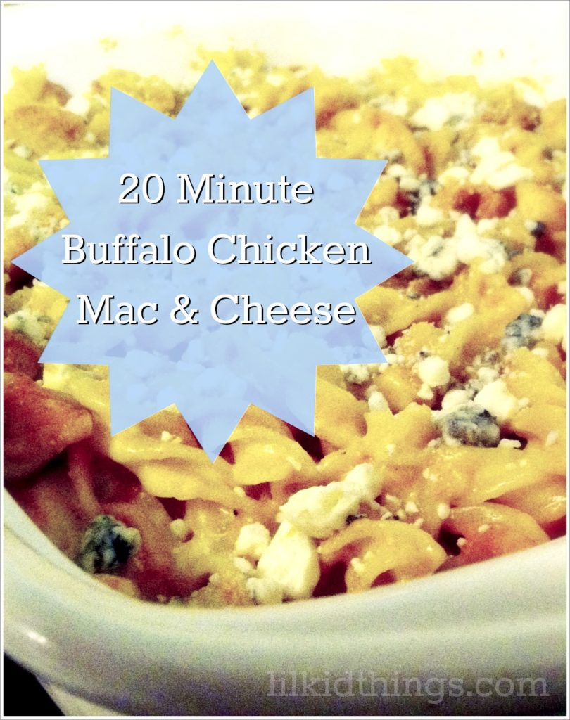 Buffalo Chicken Mac n Cheese Recipe