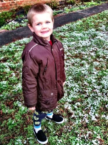 NC snow 2013 Oscar