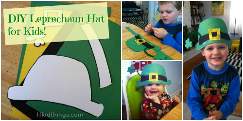 DIY Leprechaun Hat on Lilkidthings