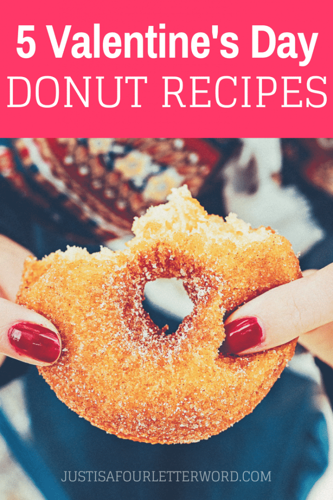 Make homemade donuts for Valentine's Day with these fun recipes! Nothing says true love like a warm donut. Trust me.