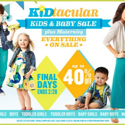 Old Navy Kids & Baby sale shopping haul