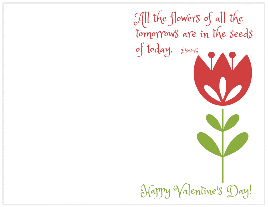 image about Printable Teacher Valentine Cards Free identify Very simple Instructor Valentines - Totally free Printable Playing cards for Instructor Presents
