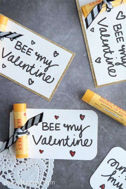 Burts Bees Teacher Valentine
