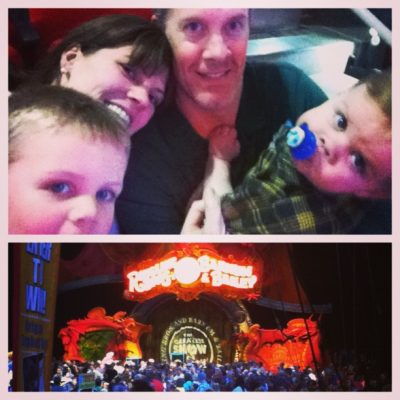 5 ways to have a great time at the Circus with young kids