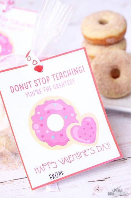Donut stop teaching
