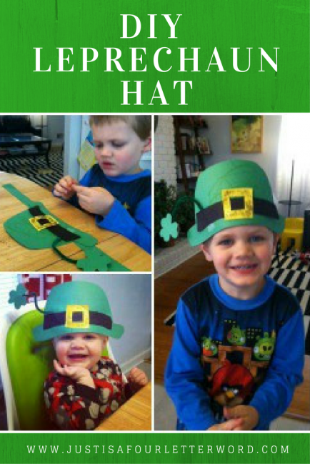 DIY Leprechaun Hat Craft