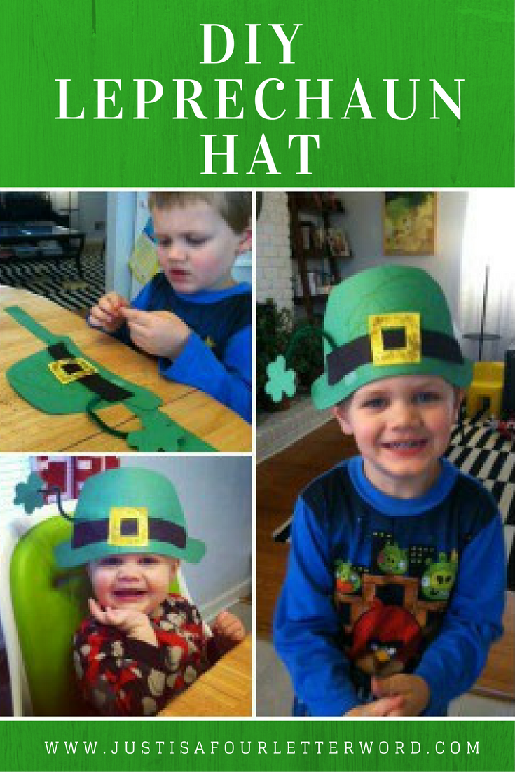 St Patrick S Day Crafts For Kids Free Printable Leprechaun Hat Pattern