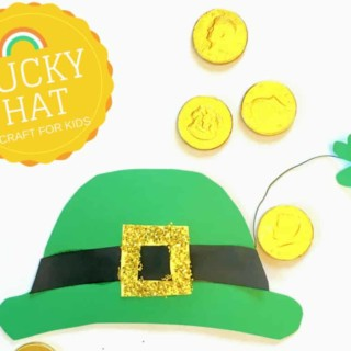 Leprechaun hat template St. Patrick's Day Craft for Kids