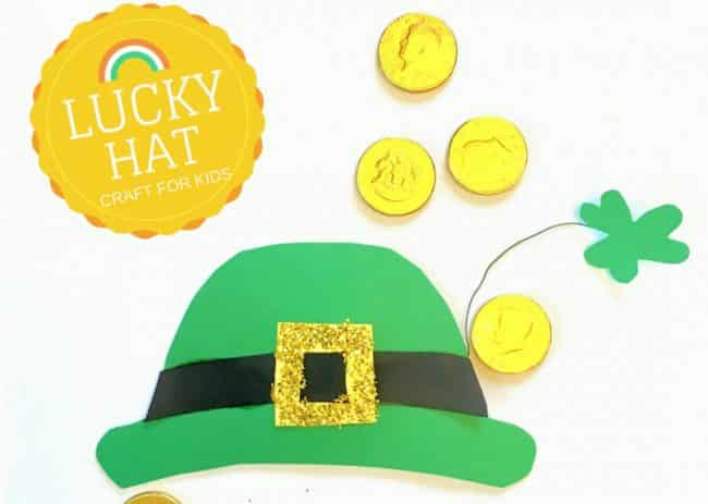 Leprechaun hat template St. Patrick's Day Craft for Kids