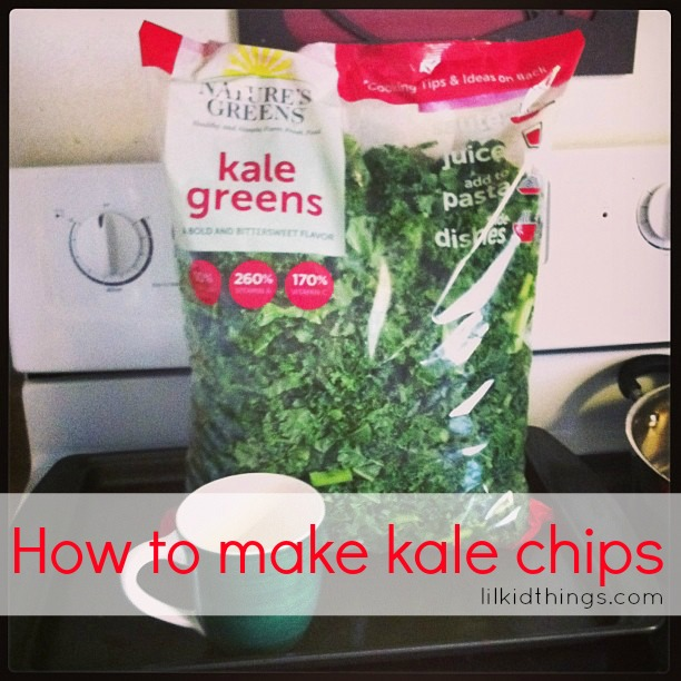 andrea updyke, lilkidthings, kale, kale chips, how to make kale chips, kale recipe