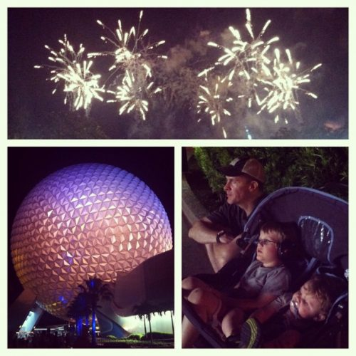 last night epcot