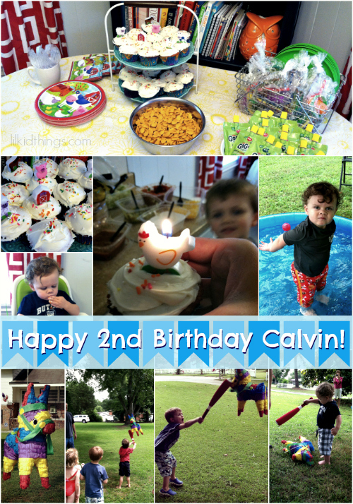 Cal 2nd bday