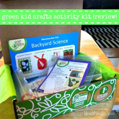 Green Kid Crafts Activity Kits {review}
