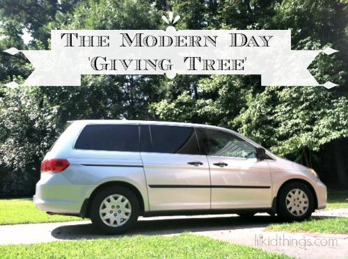 giving van