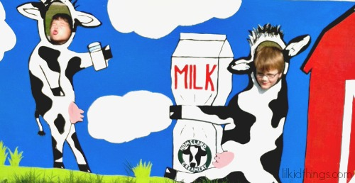 HC cow poster