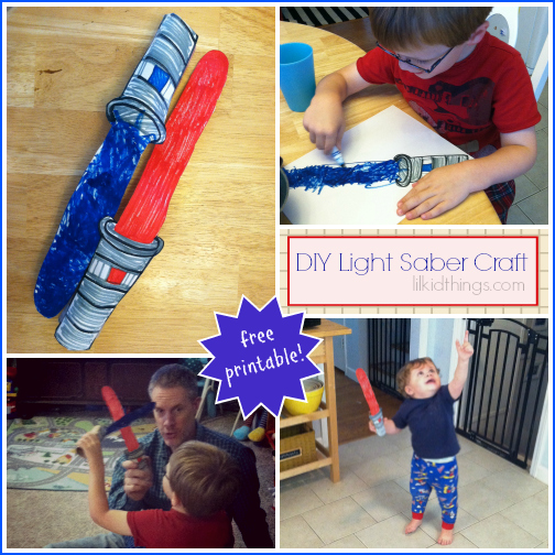light saber craft