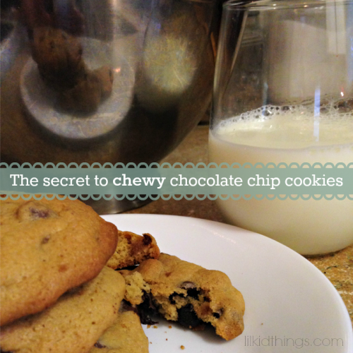 chewy cookies recipe, andrea updyke, lilkidthings, cookie recipe