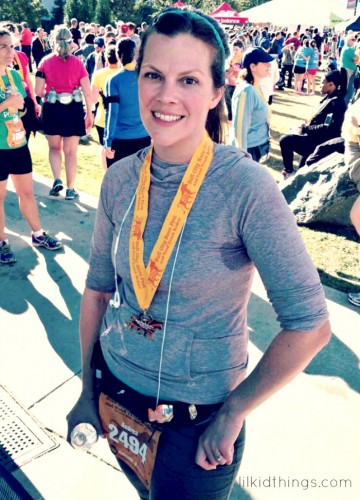 bull city race fest, duke, andrea updyke, lilkidthings, half marathon, race recap, finish