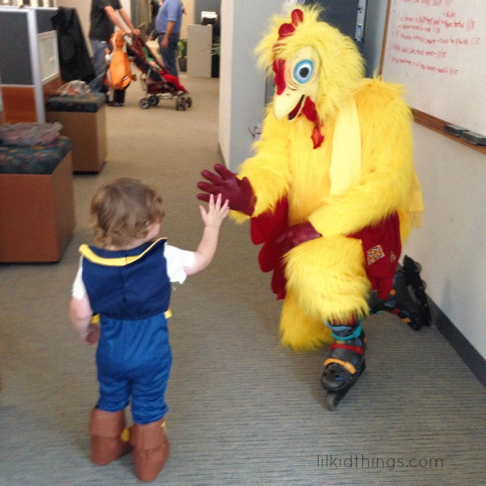 chicken hi5