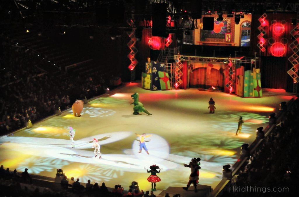 Disney toy story ice